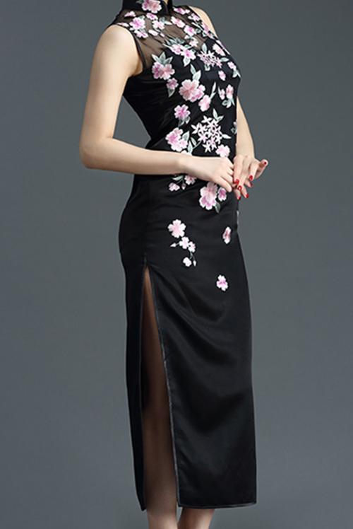 手绣旗袍定制